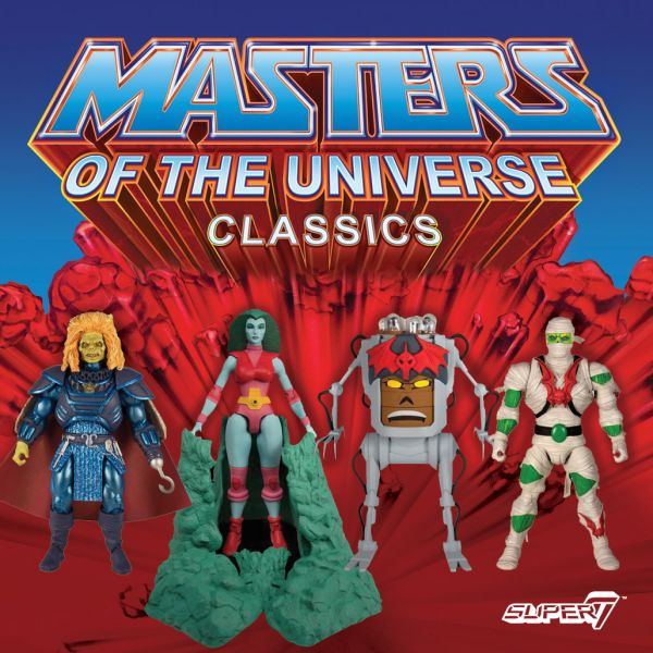MASTERS OF THE UNIVERSE COLLECTOR'S CHOICE WAVE 2 KOMPLETT