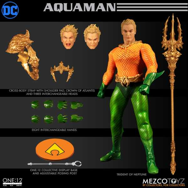 ONE-12 COLLECTIVE DC AQUAMAN ACTIONFIGUR
