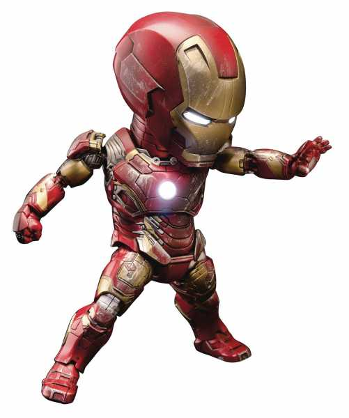 VORBESTELLUNG ! MARVEL 10TH ANN EAA-024 IRON MAN MK43 BATTLE DAMAGE PX ACTIONFIGUR