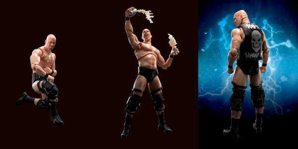 WWE STONE COLD STEVE AUSTIN S.H.FIGUARTS ACTIONFIGUR
