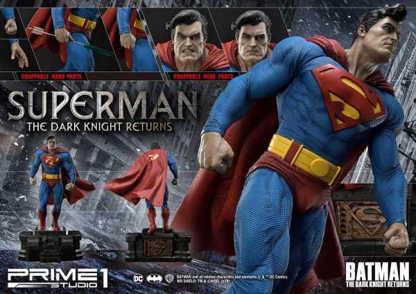 VORBESTELLUNG ! Batman: The Dark Knight Returns Statue 1/3 Superman 88 cm