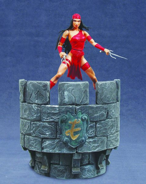 MARVEL SELECT ELEKTRA ACTIONFIGUR