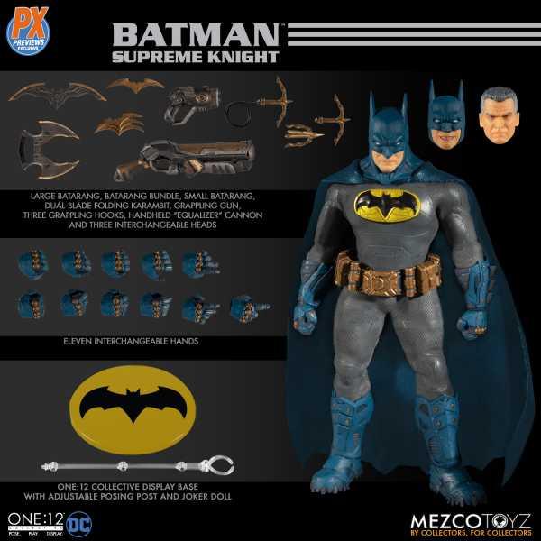 VORBESTELLUNG ! ONE-12 COLLECTIVE DC SUPREME KNIGHT BATMAN BLUE ACTIONFIGUR