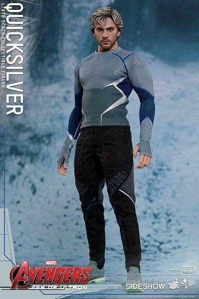 Hot Toys Avengers Age of Ultron Movie Masterpiece 1/6 Quicksilver 30 cm Actionfigur