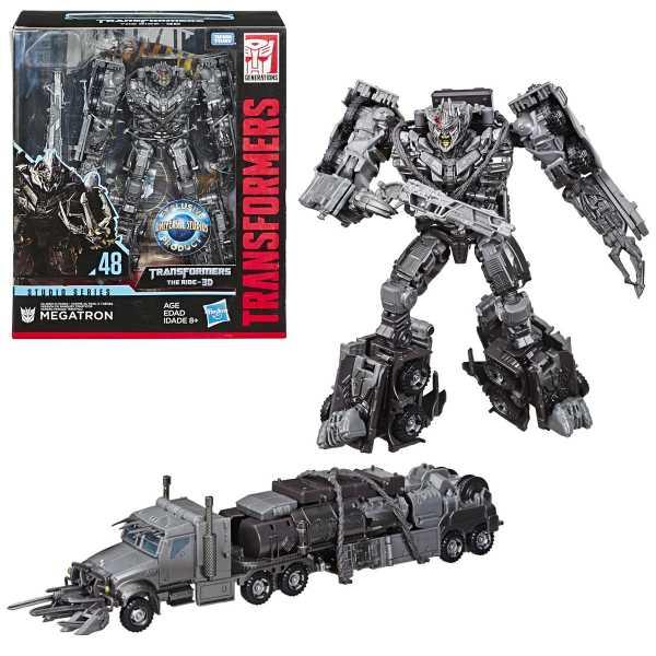 VORBESTELLUNG ! Transformers Studio Series 48 Leader Transformers The Ride 3D Megatron - Exclusive