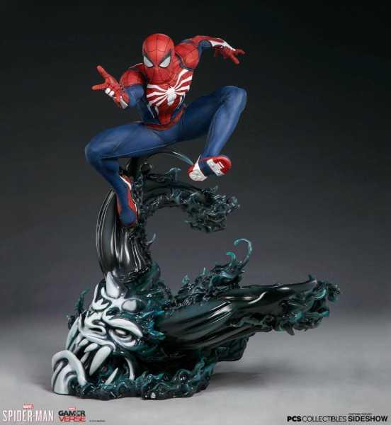 VORBESTELLUNG ! Marvel's Spider-Man Statue 1/3 Spider-Man Advanced Suit 61 cm