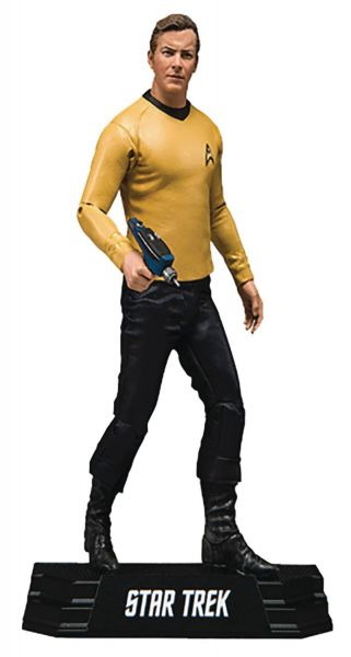 STAR TREK 17,5 cm JAMES KIRK ACTIONFIGUR
