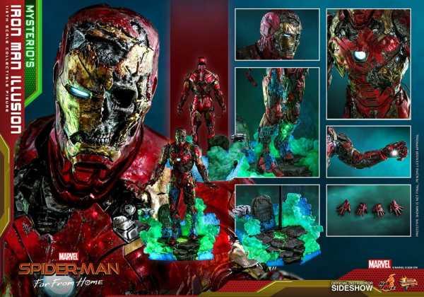 VORBESTELLUNG ! Spider-Man: Far From Home MMS PVC 1/6 Mysterio's Iron Man Illusion 32 cm Actionfigur
