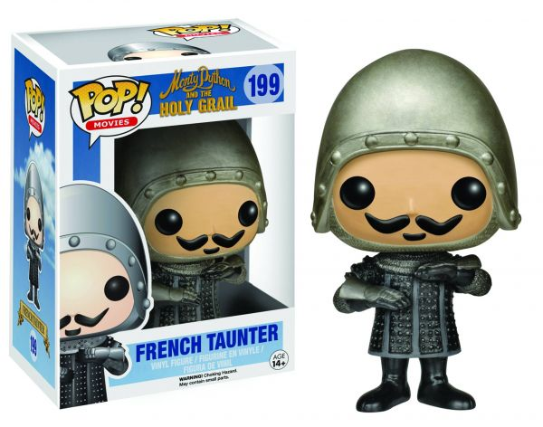 POP MONTY PYTHON HOLY GRAIL FRENCH TAUNTER VINYL FIGUR defekte Verpackung