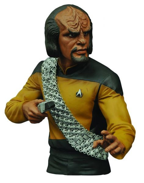 STAR TREK THE NEXT GENERATION WORF SPARDOSE