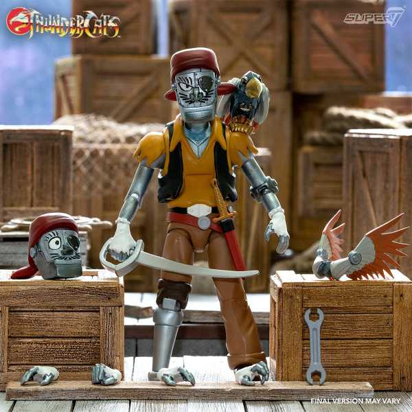 VORBESTELLUNG ! Thundercats Ultimates Captain Crackers 7 Inch Actionfigur