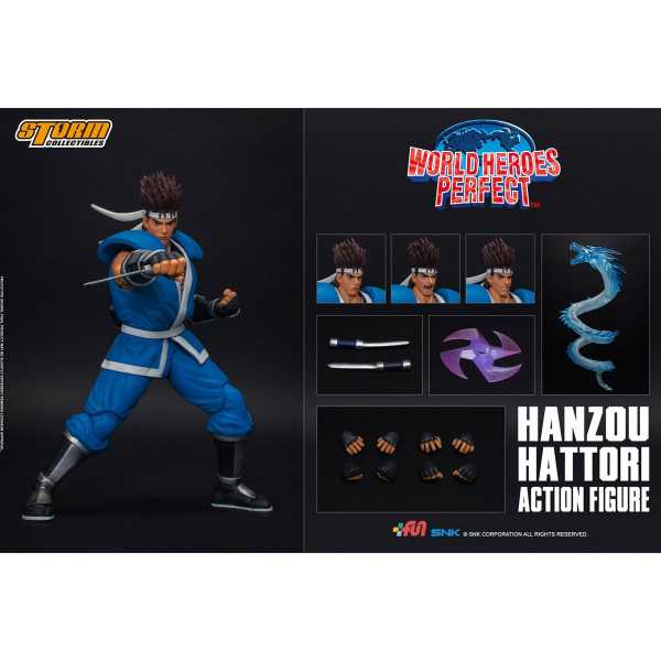 VORBESTELLUNG ! STORM COLLECTIBLES WORLD HEROES PERFECT HANZOU 1/12 ACTIONFIGUR