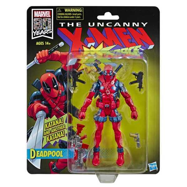 Vintage Marvel Legends Deadpool Actionfigur