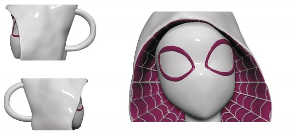 MARVEL SPIDER-GWEN PX MOLDED HEAD TASSE