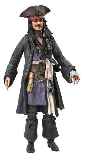VORBESTELLUNG ! PIRATES OF THE CARIBBEAN JACK SPARROW ACTIONFIGUR