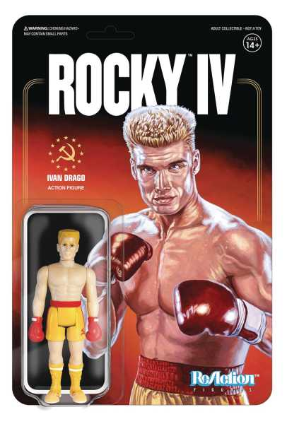 ROCKY IVAN DRAGO REACTION ACTIONFIGUR