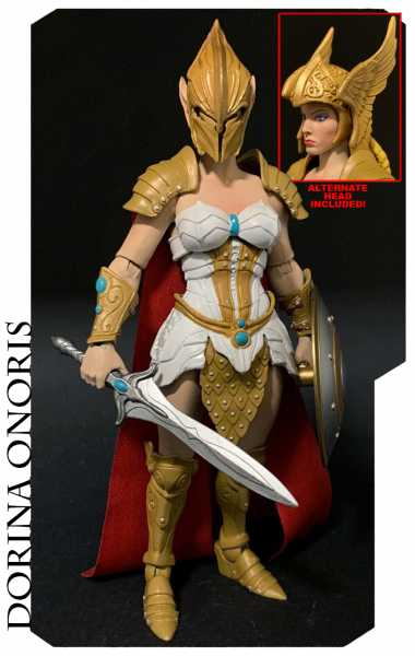 VORBESTELLUNG ! Mythic Legions All-Stars Dorina Onoris 15 cm Actionfigur