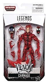 VENOM LEGENDS 15 cm CARNAGE ACTIONFIGUR