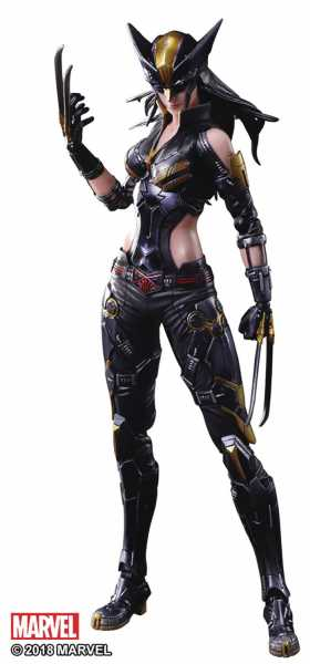 MARVEL UNIVERSE VARIANT PLAY ARTS KAI X-23 ACTIONFIGUR
