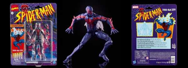 VORBESTELLUNG ! Spider-Man Marvel Legends 6 Inch Spider-Man 2099 Actionfigur