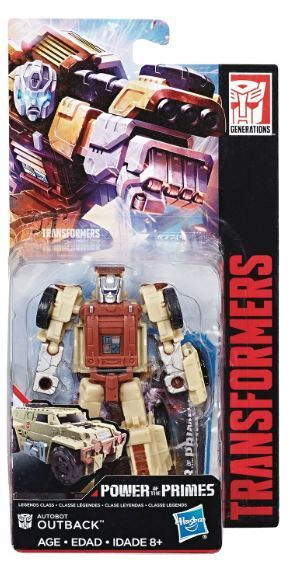 TRANSFORMERS GENERATIONS POWER OF THE PRIMES LEGENDS OUTBACK ACTIONFIGUR