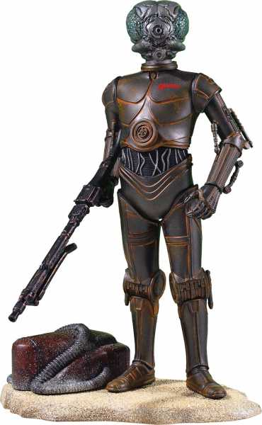 STAR WARS COLLECTORS GALLERY 4-LOM 22,5 cm STATUE