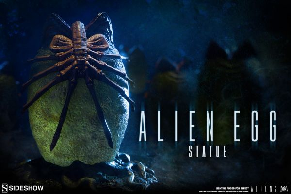 ALIEN EGG 13 cm STATUE