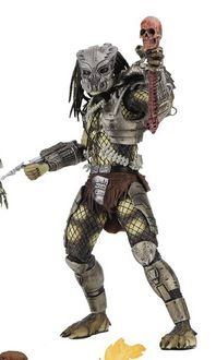 PREDATOR 30TH ANNIVERSARY JUNGLE HUNTER MASKED 17,5 cm ACTIONFIGUR