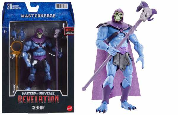 VORBESTELLUNG ! Masters of the Universe Masterverse Revelation Skeletor Classic Actionfigur