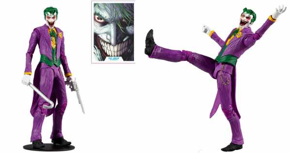 DC Multiverse Wave 3 Modern Comic Joker 7 Inch Actionfigur
