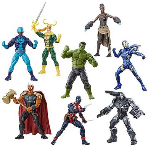 AVENGERS 4 LEGENDS HULK WAVE KOMPLETT