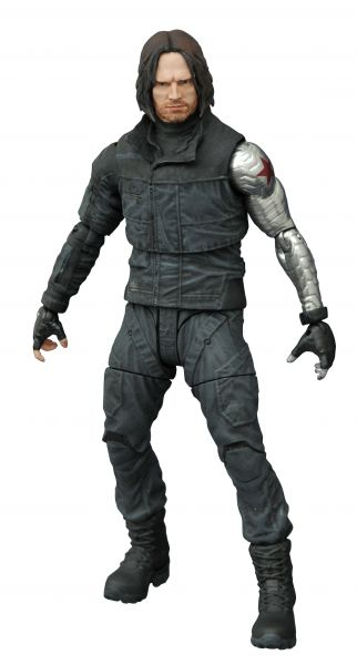 MARVEL SELECT CAPTAIN AMERICA 3 WINTER SOLDIER ACTIONFIGUR