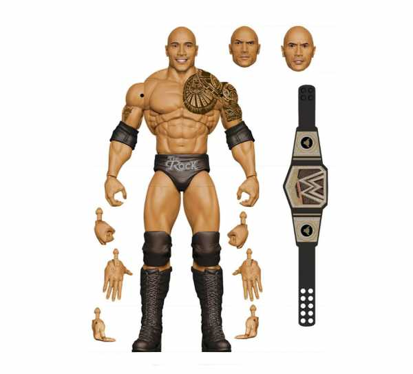 VORBESTELLUNG ! WWE Ultimate Edition Wave 10 The Rock Actionfigur