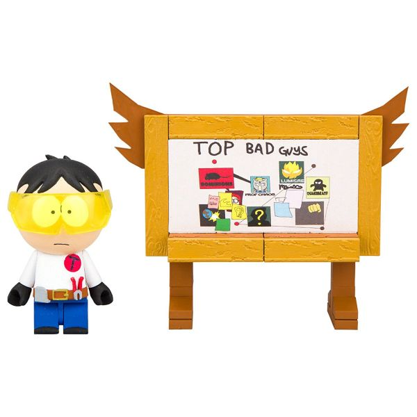 SOUTH PARK TOOLSHED & TOP BAD GUYS BOARD BAUSATZ