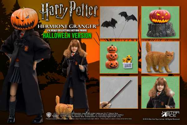 Harry Potter My Favourite Movie 1/6 Hermine Granger (Child) Halloween Limited Edition Actionfigur