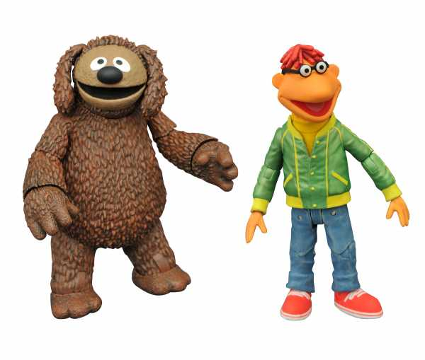 Muppets Best Of Series 1 Scooter & Rowlf Actionfiguren 2-Pack
