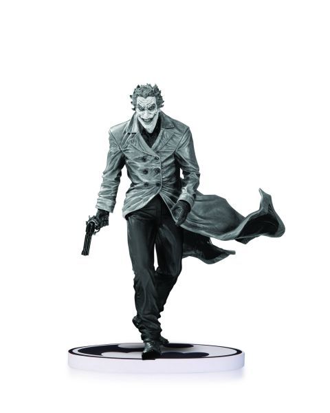 BATMAN BLACK AND WHITE STATUE JOKER BY BERMEJO 2ND EDITION
