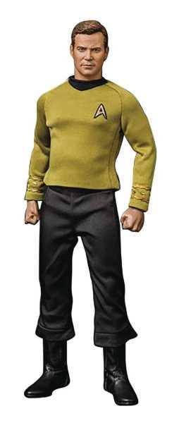 STAR TREK MASTER SERIES CAPTAIN KIRK REISSUE 1/6 SCALE ACTIONFIGUR