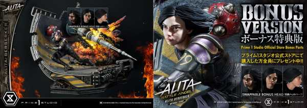 VORBESTELLUNG ! Alita: Battle Angel 1/4 Alita Berserker Motorball Tryout 64 cm Statue Bonus Version