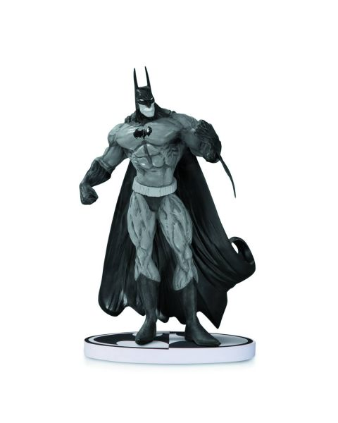 BATMAN BLACK AND WHITE STATUE BY BISLEY 2ND EDITION