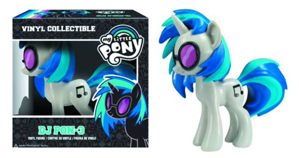 MY LITTLE PONY DJ PON-3 VINYL FIGUR