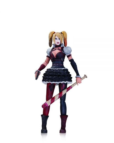 BATMAN ARKHAM KNIGHT HARLEY QUINN ACTIONFIGUR