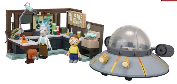 RICK & MORTY SPACESHIP BAUSATZ
