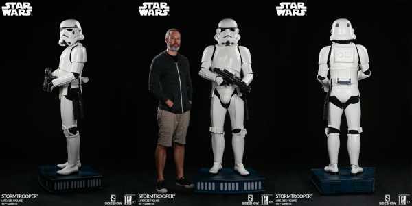 AUF ANFRAGE ! Star Wars Life-Size Stormtrooper 198 cm Statue