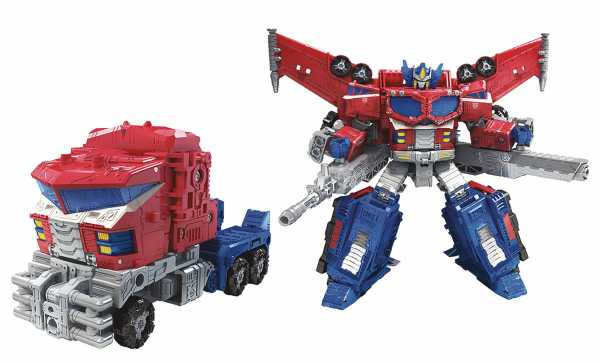 TRANSFORMERS GENERATIONS WAR FOR CYBERTRON: SIEGE LEADER GALAXY UPGRADE OPTIMUS PRIME ACTIONFIGUR