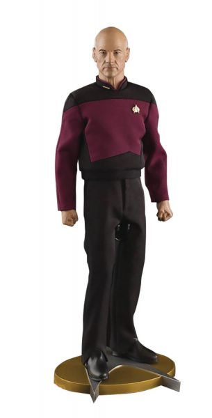 STAR TREK THE NEXT GENERATION CAPTAIN JEAN-LUC PICARD 1/6 SCALE ACTIONFIGUR