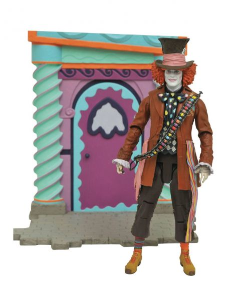 ALICE THROUGH THE LOOKING GLASS SELECT RED HATTER PX ACTIONFIGUR