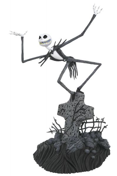 NIGHTMARE BEFORE CHRISTMAS GALLERY JACK SKELLINGTON PVC STATUE