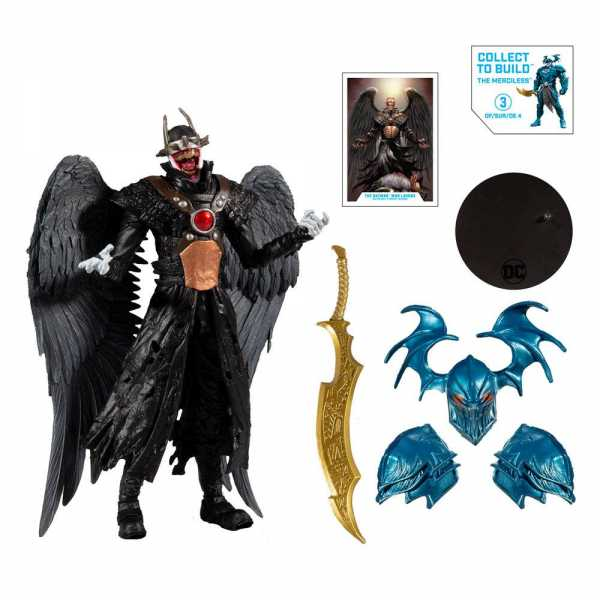 VORBESTELLUNG ! DC Multiverse Build A Batman Batman Who Laughs (Hawkman #18 (2019) 18 cm Actionfigur