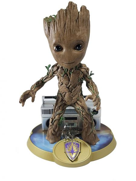 FINDERS KEYPERS MARVEL GUARDIANS OF THE GALAXY 2 KID GROOT VINYL KEYCHAIN STATUE